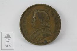 1878 Vatican - Pope Pius IX Commemorative Medal - Religión & Esoterismo