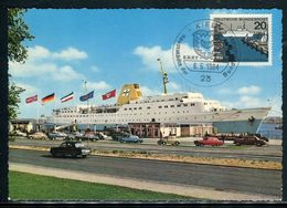 Allemagne - Carte Maximum 1964 - Bateau - Maximum Cards
