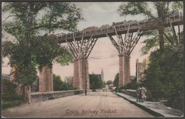 Railway Viaduct, Truro, Cornwall, 1906 - Frith's Postcard - England