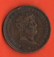 Napoli 10 Tornesi 1859 Re Ferdinando II° Di  Borbone Re Delle Due Sicilie Kingdom Of Sicily - Monnaies Régionales