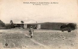 Camps,postes Et Avant-postes Du Maroc. El Borouj,la Casbah.Schmitt Photo Rabat. - Maroc