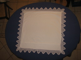 69 - Taie D'oreiller 67 X 67 En Coton Ou Lin Monogrammée SB - Bed Sheets