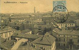 Pays Div-ref L324- Italie - Italia - Italy - Alessandria - Panorama - Carte Bon Etat  - - Italien