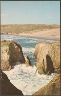 The Sands, Perranporth, Cornwall, C.1960s - Postcard - England