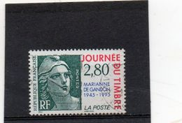 FRANCE   2,80 F  Cinquantenaire Marianne De Gandon   1995   Y&T: 2934 Oblitéré - 1945-54 Marianne Of Gandon