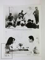 1985 Original Cinema Press Photo - Latino - Annette Charles, Robert Beltran - Fotos