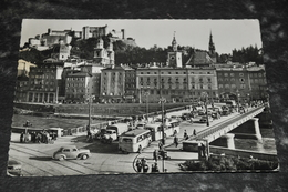 290   Salzburg   Staatsbrücke  Autos  Cars Bus - Busse & Reisebusse