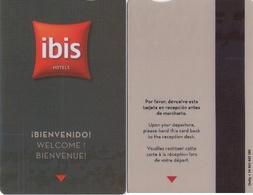 SPAIN. HOTEL KEY CARD. IBIS HOTEL. 003. - Cartas De Hotels