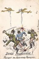 Illustration Patriotique - Danse Prussienne - Musique Des Aviateurs Français - Andere Illustrators