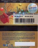 SPAIN. HOTEL KEY CARD. PORT AVENTURA HOTEL. (TARRAGONA) 010. - Hotelkarten