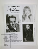 1980's Cinema Press Photo - Henry Fonda And Jane Fonda - Fotos