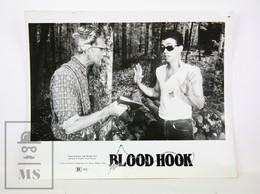 1986 Cinema Press Photo - Blood Hook - Horror Movie - Fotos