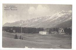 19214 - Lenzerheidesee Pension Waldheim Mit Parpaner Weisshorn - GR Grisons