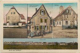Pays Div-ref L318- Allemagne - Grub Aus Trebur -/ Tres Leger Pli Travers Haut Droit De La Carte - - Allemagne