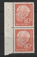 Freimarken: Bundespräsident Theodor Heuss (II)  /  MiNr.: 264 - Unused Stamps