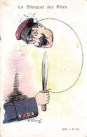 Illustration Politique - Le Bilboquet Des Alliés - Militaire Militaria - Illustratoren & Fotografen