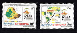Ethiopie 2006 Mi Nr  1845 + 1847 - Äthiopien