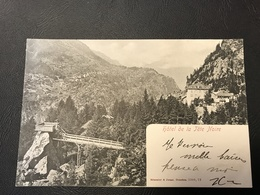 3309,72 - Hotel De La Tete Noire (Trient Suisse) - VS Valais