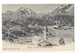 19221 - Maloya Kirche Und Schloss Renesse - GR Grisons