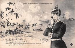Illustration - A Propos D'un Nouveau Facteur - Série Humoristique De La Guerre 1914 - Militaire Militaria Soldats - Illustrators & Photographers