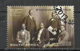 SOUTH AFRICA 2012 - 100th ANNIVERSARY OF NATIONAL INDIGENOUS SANNC CONGRESCO - USED OBLITERE GESTEMPELT USADO - Afrique Du Sud (1961-...)