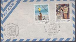 Argentina 1987 Antarctica 2v FDC (3735) - FDC