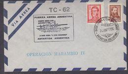 Argentina 1971 Antarctica Operacion Marambio IV Cover (37436) - Postzegels