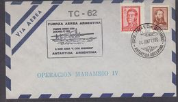 Argentina 1971 Antarctica Operacion Marambio IV Cover (37436) - Zonder Classificatie