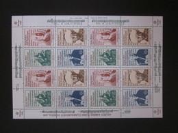 Zypern (Türkei) Kleinbogen Nr. 166 - 169 Postfrisch** / MNH Cept 1985 (C42) - Zypern (Türkei)