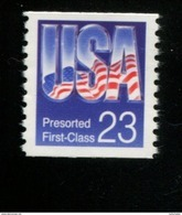 250641693  USA 1993 ** MNH SCOTT 2608 Flag PRESORTED FIRST CLASS - Ungebraucht