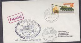 Russia 1986 Icebreaker Prof. Molchanov Cover (37438) - Poolshepen & Ijsbrekers