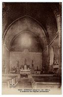 CPA 12 Aveyron Aubrac L'Intérieur De L'Eglise Paroissiale - France