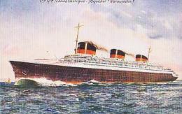 "Paquebot        67       Paquebot  ""SS Normandie "" - Paquebote"