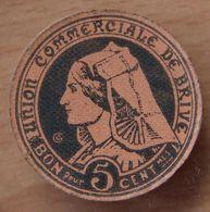 Brive (10 ) 5 Centimes Union Commerciale 1917 - Monetari / Di Necessità