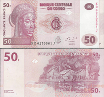 Congo DR 2013 - 50 Francs - Pick 97 UNC - Congo