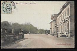 Cpa 02699 Compiègne Le Chateau La Terrasse édition Des Nouvelles Galeries - Compiegne