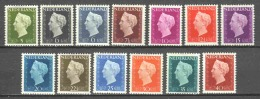 Netherlands 1947 NVPH 474-486 MLH - Unused Stamps