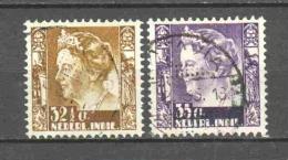 Netherlands Indies 1934 NVPH 201-202 Canceled - Nederlands-Indië