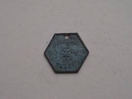 Belasting Op HONDEN / Taxe : Belgique / België 1942 - 262050 ( TOKEN For Dog / Chien TAX / For Detail, Zie/see Photo ) ! - Belgium