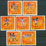 1968 Mahra State Peggy Fleming Grenoble Olimpiadi Winter Olympics Golden Medals MNH** Pa220 - Inverno1968: Grenoble