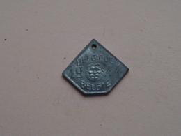 Belasting Op HONDEN / Taxe : Belgique / België 1944 - 319992 ( TOKEN For Dog / Chien TAX / For Detail, Zie/see Photo ) ! - Unclassified