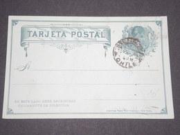 CHILI - Entier Postal Repiquage Commerciale Au Verso De Valparaiso  - L 12715 - Chili