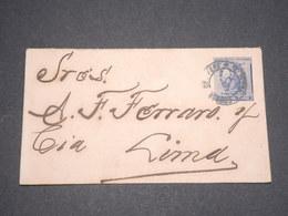 PEROU - Entier Postal + Complément Au Verso Pour Lima  - L 12716 - Pérou