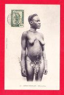 E-Congo-72A97  Fille De Gara, Les Seins Nus, Scarifications Sur Le Corps, Cpa BE - Französisch-Kongo - Sonstige