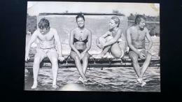 26 PHOTOS MER PLAGE MAILLOTS VINTAGE LITTORAL BELGIQUE ANNÉES 1930 à 1970 - 20 PHOTOS EN NOIR - BLANC  ET 5 EN COULEURS - Lieux
