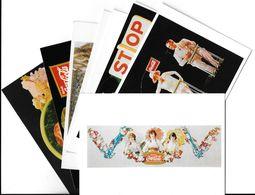 Publicité Lot N°1 De 10 Cartes-COCA-COLA ART Ou PUBLICITE RETROSPECTIVE 20/12/95-27/2/96 CARROUSEL Du LOUVRE *PRIX FIXE - Publicité