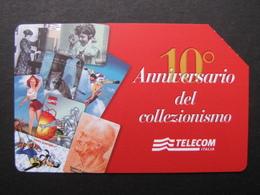 368 GOLDEN EURO - 10 ANNIVERSARIO COLLEZIONISMO - USATA - Public Advertising
