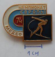 USSR Figure Skating, Racing Skates - Soviet Sport   PINS BADGES PLAS - Skating (Figure)