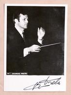 Musica - Autografo Del Direttore D'orchestra Georges Pretre - 1970 Ca. - Autographs
