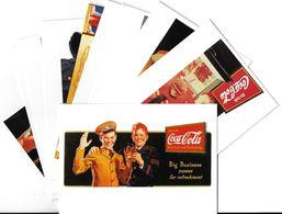 Publicité Lot N°2 De 10 Cartes-COCA-COLA ART Ou PUBLICITE Rétrospective 20/12/95-27/2/96 CARROUSEL Du LOUVRE *PRIX FIXE - Publicité